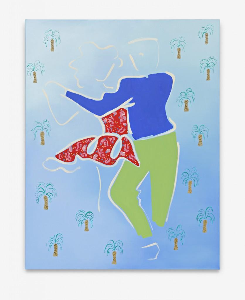 Salseros, Oil on canvas, 102 x 130 cm, 2014