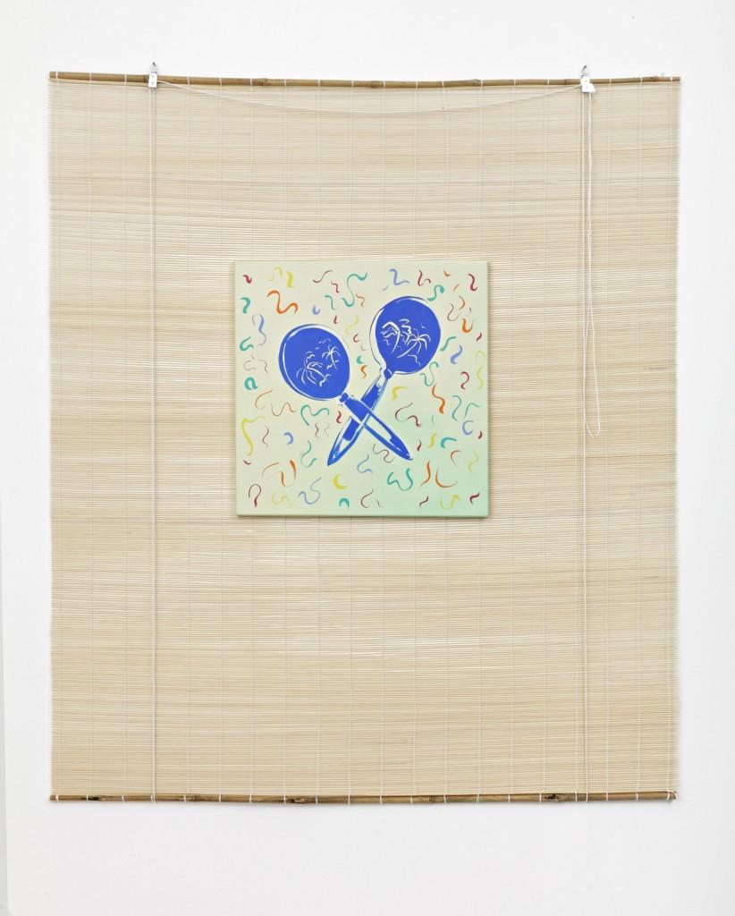 Maracas, Oil on canvas 140 x 160 cm, 2014
