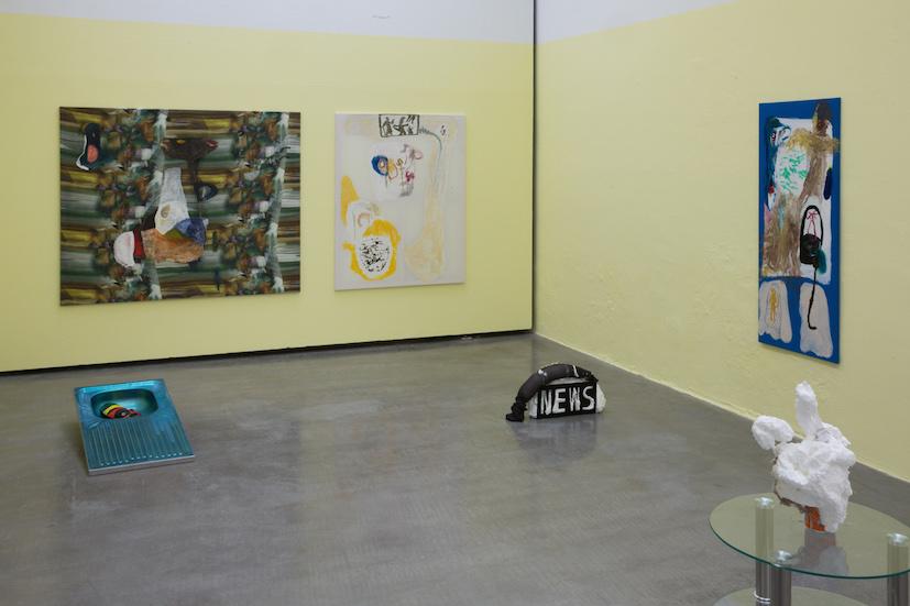 Die Antwort der Dinge, 2014, Michaela Eichwald / Max Schmidtlein, installation view Lothringer13 Halle