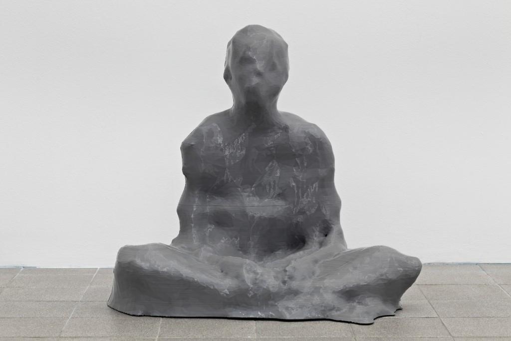 Antoine Renard, 3473952_Christian-Xbox, 2015, Polyatic acid (PLA), 72 x 67 x 71 cm