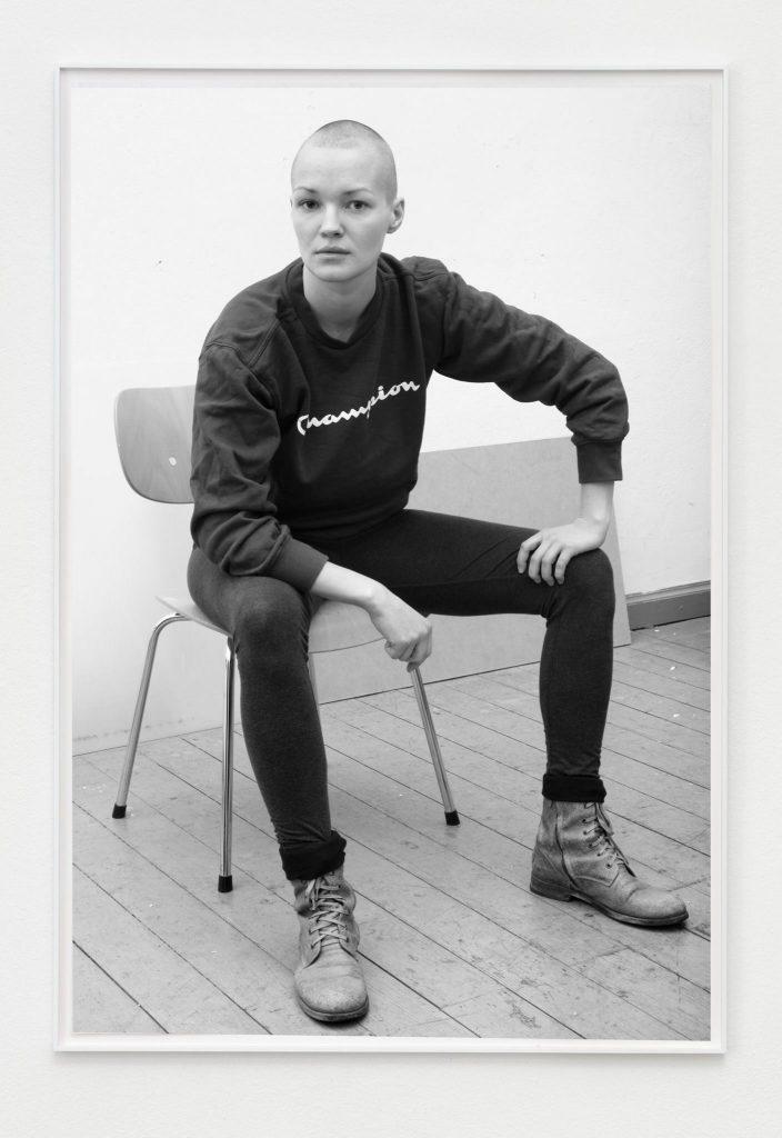 Andrzej Steinbach FIGUR I, 2014 B/w photograph 90 x 60 cm Image: Courtesy Galerie Conradi, Hamburg and Gillmeier Rech, Berlin