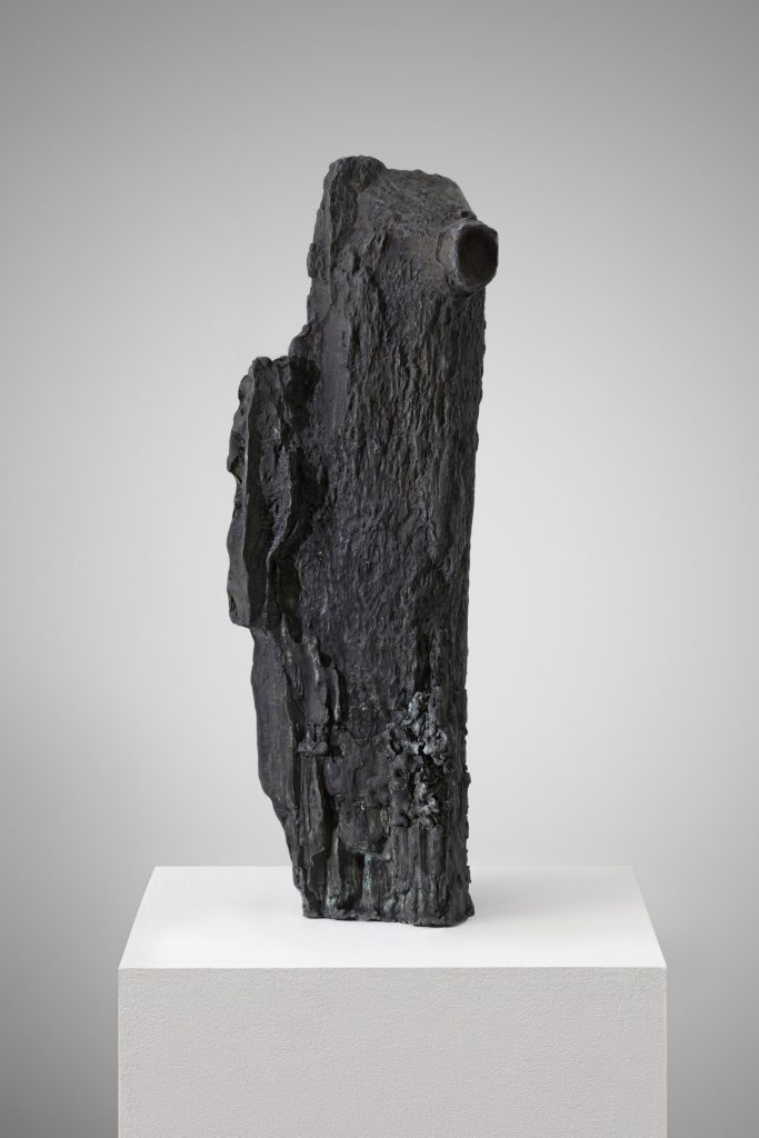 Angelika Loderer Untitled (Buntspecht I) 2013 patinated bronze 60 x 20 x 18 cm